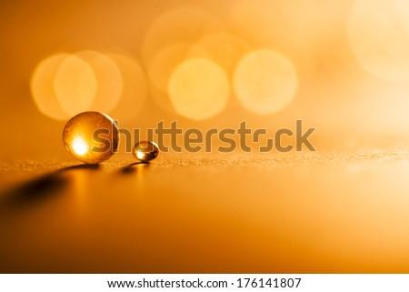 Small balls abstract with bokeh #176141807