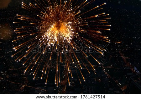 Beautiful Picture Of A Fireworks