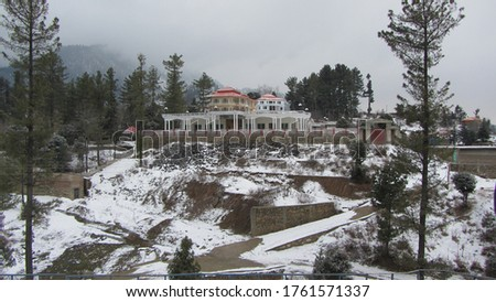 this picture i take during my visit to Kalam with office fellows dated 1st January 2020. its winter, last night we seen snowfall and the morning we went to another place Malam Jaba.