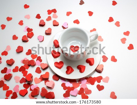 """thousands of love """" i love you """" you are my cup of tea"""