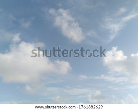 Beautiful sky picture cloudy weather