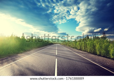 road in mountains #176188889