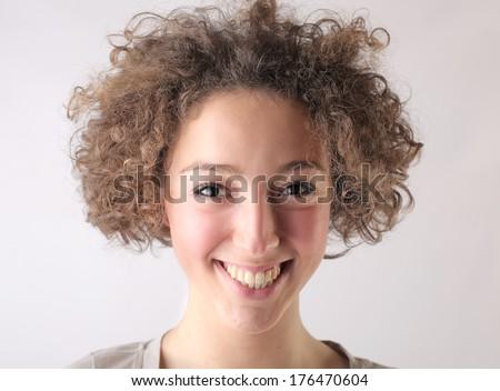smiling girl #176470604
