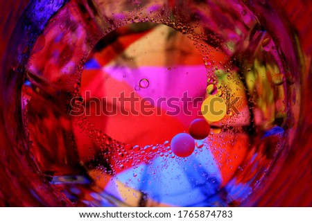 colourful Abstract  Background ,Abstract colourful photography of water drops.water drops Wallpaper.