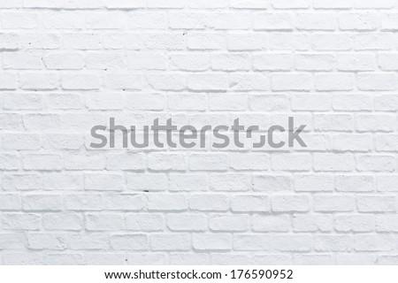 A white brick wall #176590952