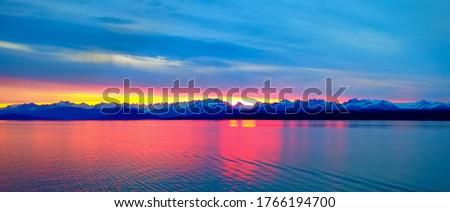 Beautiful and Moody sunrises  a view from  cruiseship