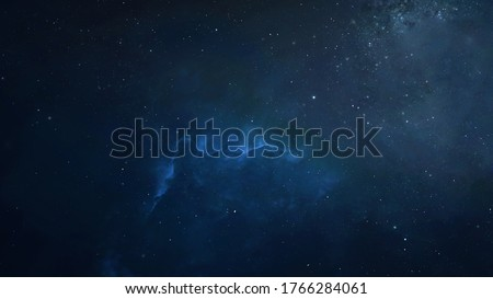Night sky full of stars texture. Wallpaper of Milky way and galaxies. Nebula view. #1766284061