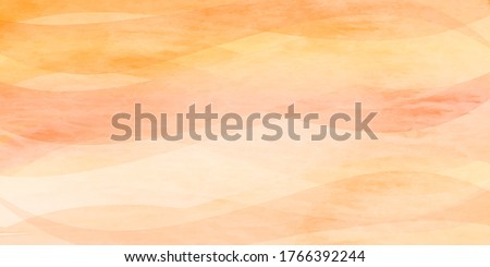 Autumn watercolor Japanese paper background Royalty-Free Stock Photo #1766392244