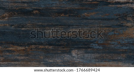 natural wood texture, old wooden background. dark wood background. blue wood texture Royalty-Free Stock Photo #1766689424