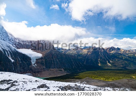 Rocky Mountain Landscape With Vast Range Of Summit Peaks In Wilderness #1770028370