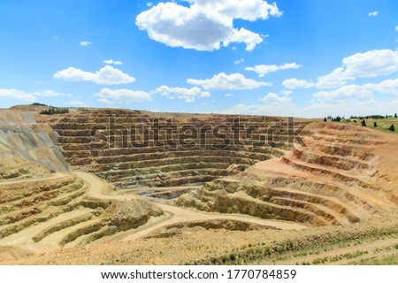 Active gold mine near Cripple Creek, Colorado, USA #1770784859