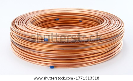 pancake coil-There are two basic types of copper tubing, soft copper and rigid copper. Copper tubing is joined using flare connection, compression connection, pressed connection, or solder.  #1771313318