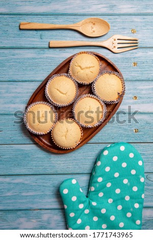 Thai Steamed Egg Cakes - Stock Photo #1771743965