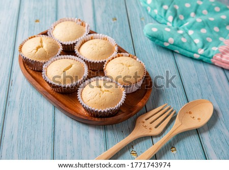 Thai Steamed Egg Cakes - Stock Photo #1771743974