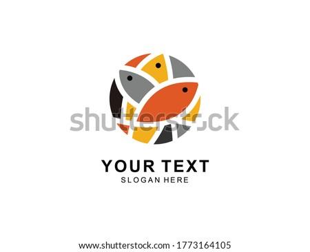 fish Logo icon symbol Design inspiration