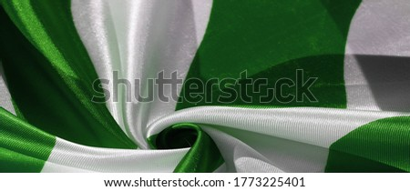 Texture, background, pattern, postcard, silk fabric, green white ovals, your projects will not go unnoticed with this fabric, buying this fabric you will be the best