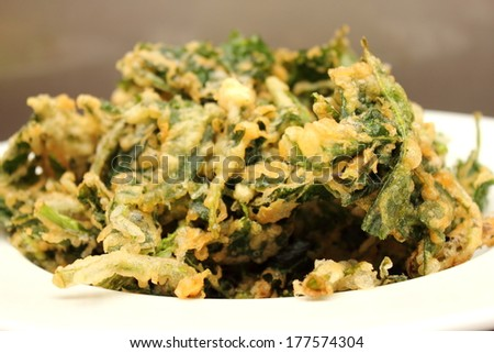 Vegetable fritters #177574304