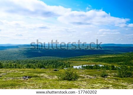 north mountain tundra and lakes #17760202