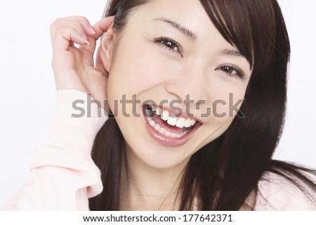 Japanese woman portrait #177642371