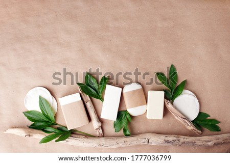 Cosmetic nature skincare and essential oil aromatherap, organic natural science beauty product Herbal alternative medicine, mock up, eco-friendly sustaianble packaging, self-care focused Royalty-Free Stock Photo #1777036799