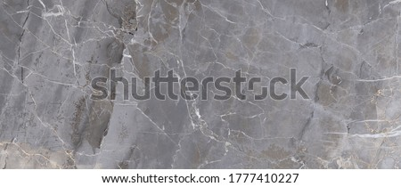 Limestone Marble Texture Background, Natural Polished Italian Gray Marble Stone Texture For Interior Abstract Home Decoration Used Ceramic Wall Floor And Granite Tiles Surface Royalty-Free Stock Photo #1777410227