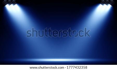 Spotlight. Scene Illumination. Light Effect. Royalty-Free Stock Photo #1777432358