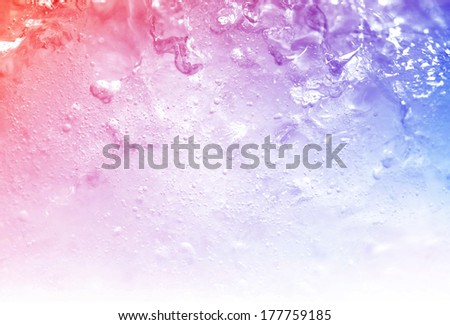vivid colorful ice background