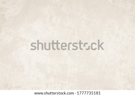 Old concrete wall texture background. Building pattern surface clean soft polished. Abstract vintage cracked spray stone rough, Cream natural grunge loft construction antique, Design work paper floor. Royalty-Free Stock Photo #1777735181
