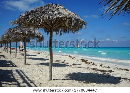 Cayo Santa Maria is well known for its white sand beaches. Cayo Santa Maria, Cuba.