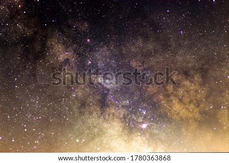 Core of the Milky Way in a Dark Sky