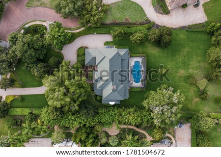 Luxury Home Drone Aerial Photography