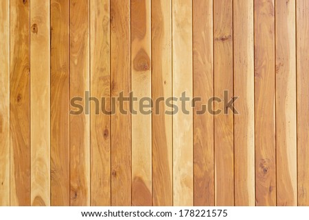teak wood plank texture with natural patterns / teal plank / teak wall #178221575