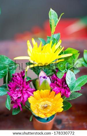 Plastic flowers #178330772