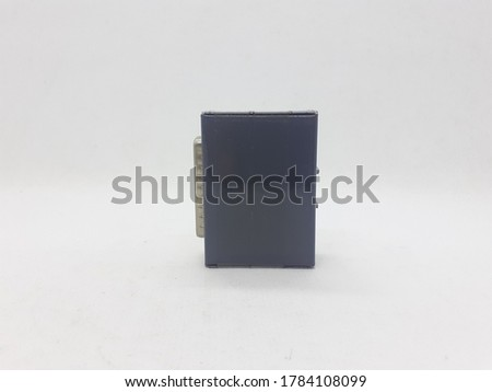 Electronic Data Converter Device in White Isolated Background