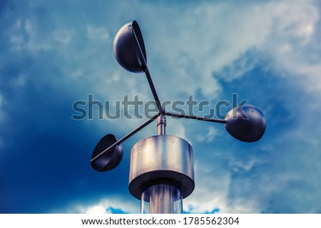 Anemometer, meteorological weather-station (measurement equipment) #1785562304