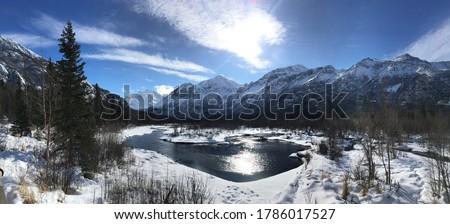 natural mountain beautiful scenery hd pic
