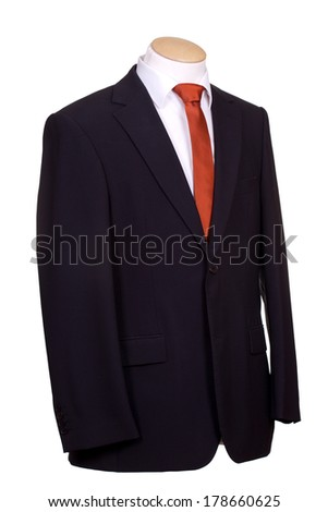 suit with tie #178660625