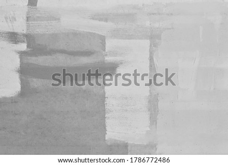 Old cement walls with converted marks painted in black and white mixed together, used as a backdrop, advertising background, concrete wall art ideas for the background.
