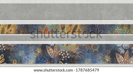 Digital wall tiles & abstract wallpapers designs with different pattern for kitchen, bathroom & living room multi Coloured wall tiles Decor For home. alison j gilbert image.