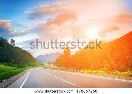mountain road #178867268