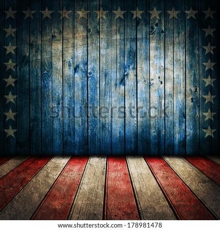 Vintage USA style background