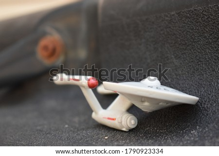 original series starship enterprise closeup Royalty-Free Stock Photo #1790923334