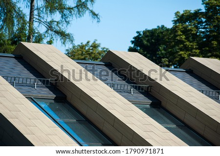 Modern roofing solutions from modern materials #1790971871