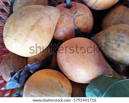 Bright, Ripe Peaches Are In The Basket. #1791441716