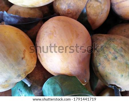 Bright, Ripe Peaches Are In The Basket. #1791441719
