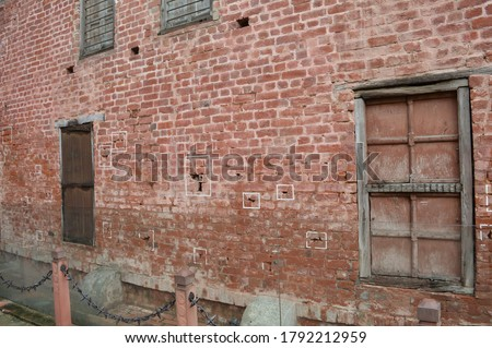 Jallianwala Bagh is a historic garden and 'memorial of national importance' in Amritsar, India, preserved in the memory of those wounded and killed in the Jallianwala Bagh Massacre #1792212959
