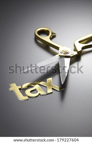 scissors and the alphabet TAX #179227604