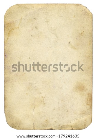 old paper with rounded corners- vintage background