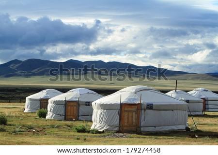 Yurt Villages of Mongolia #179274458