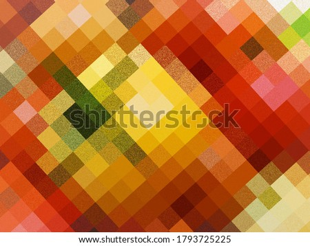 a multicoloured pixel abstract background image